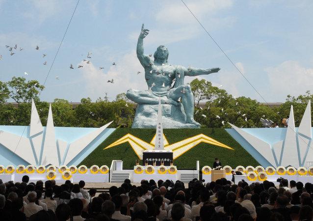 长崎市长呼吁奥巴马和核国家领导人到该市感受核弹恐怖