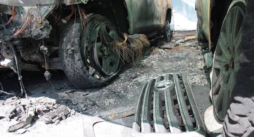欧安组织乌克兰特别委员会:观察员不会在汽车燃烧事件后撤出
