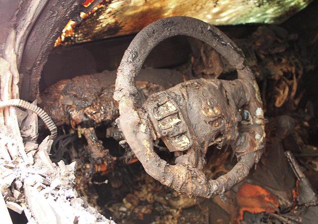 欧安组织证实其7辆车在顿涅茨克被烧