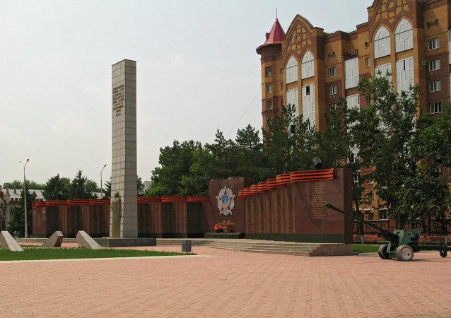 第六届俄中文化大集在布拉格维申斯克与黑河同时开幕