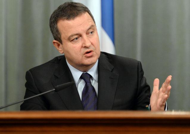 塞尔维亚外长称将继续加强与俄中的关系