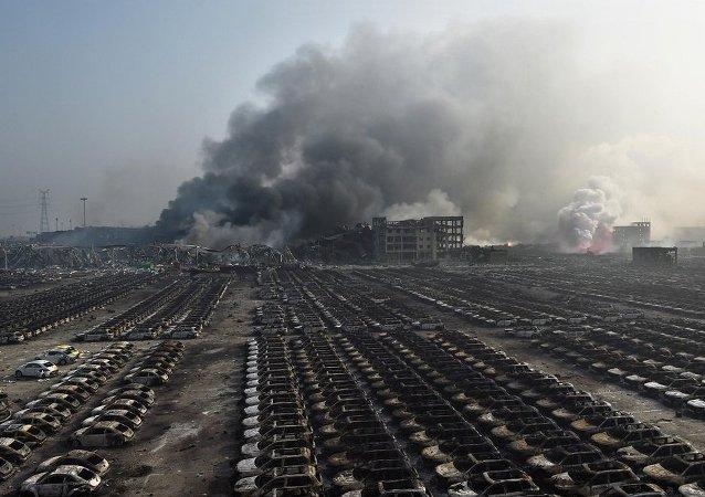 中国约50人因天津仓库爆炸案获刑