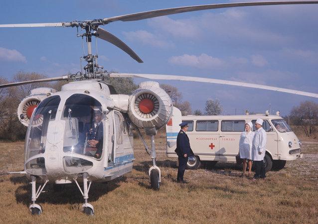 俄空天部队将在所有军医院附近建设直升机停机坪