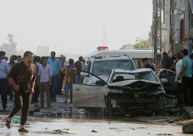 伊拉克5名武装分子在安装汽车炸弹时被炸死