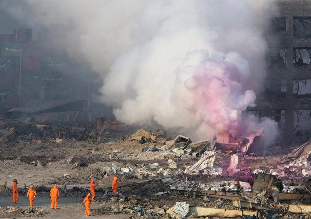 俄紧急情况部部长:天津剧烈爆炸后俄提出向中国提供人道主义援助