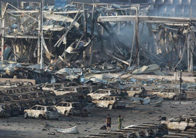 天津港爆炸事故死亡人数上升至158人