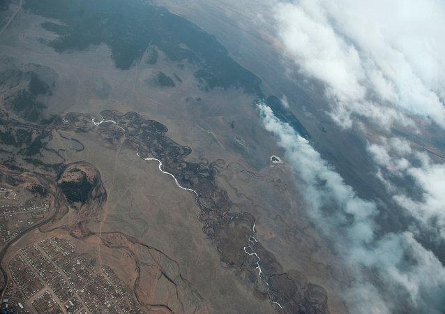 数日来布里亚特共和国的10处森林大火被扑灭