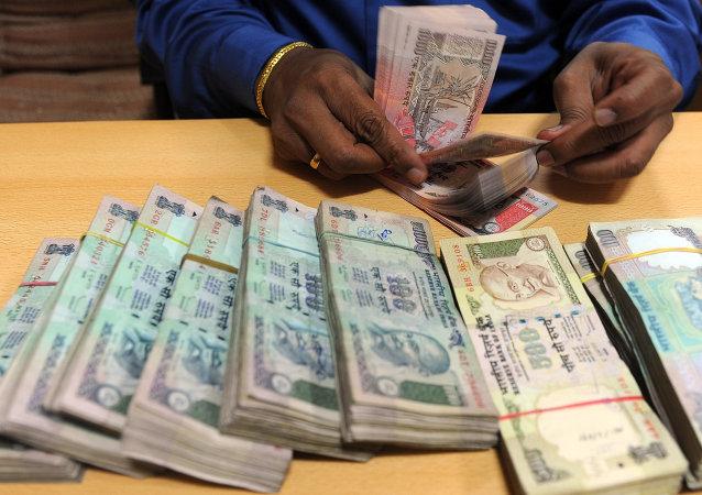 在货币改革框架下印度已将相当于800亿美元的旧纸币撤出流通