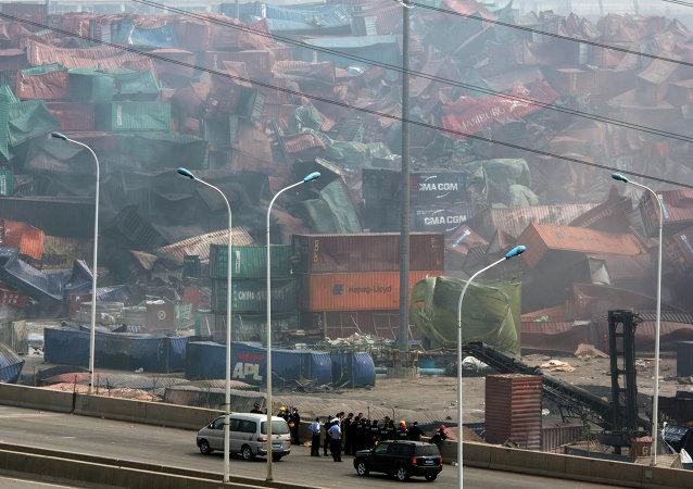 天津港爆炸事故遇难者人数已上升至150人