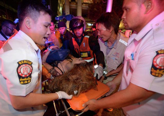 曼谷警方宣布8月17日恐怖袭击案结案