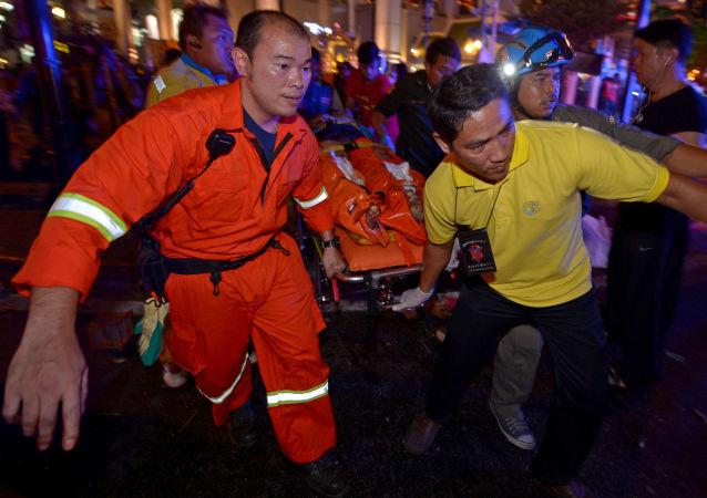 媒体:泰国酒店坍塌导致1名游客死亡 另有7人被埋废墟下