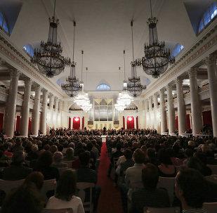 俄中乐团将在联合国总部举行音乐会