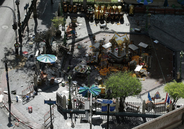 政府:曼谷恐怖袭击事件后,仍有52人在医院治疗