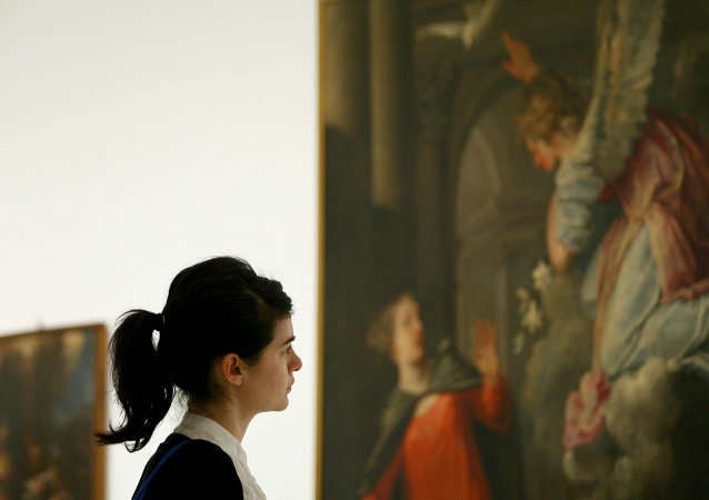 佛罗伦萨乌菲兹美术馆油画