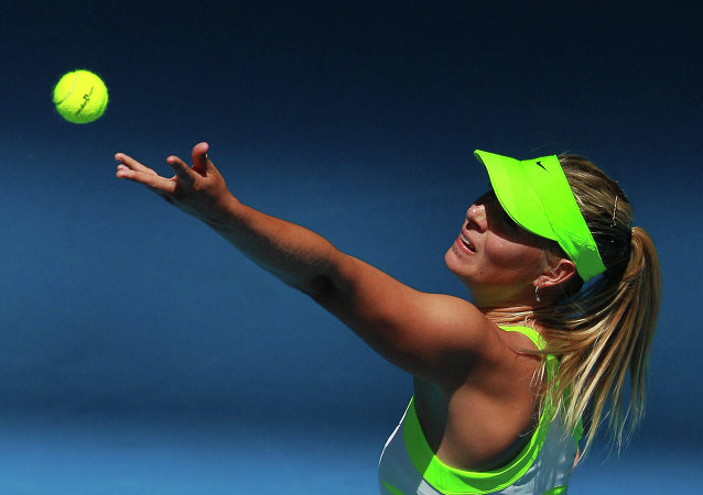 网球运动员莎拉波娃荣登《福布斯》杂志俄最富有女性排行榜第8名