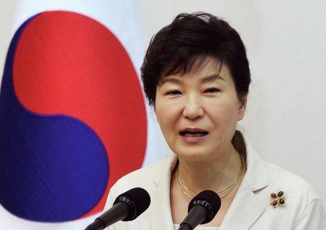 韩国总统再次发言支持部署美国反导系统