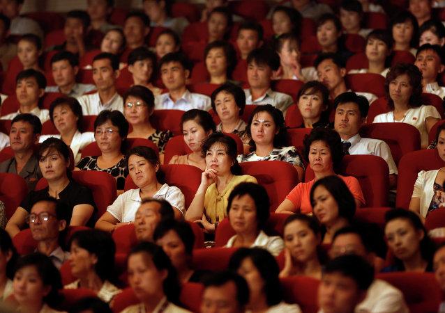 斯罗维尼亚莱巴赫摇滚乐队在朝鲜举办音乐会
