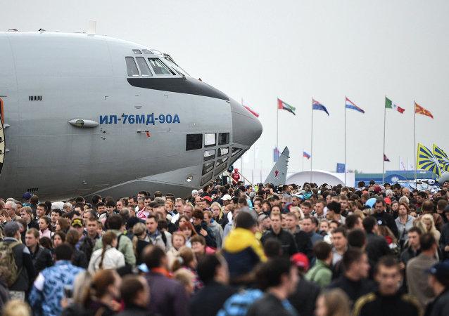 莫斯科2015航展上将展出新型飞船对接系统