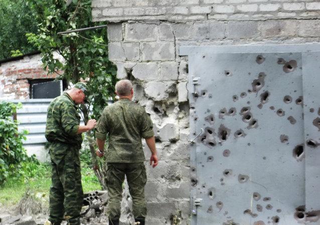 俄安全会议:基辅没有遵守顿巴斯停火条件