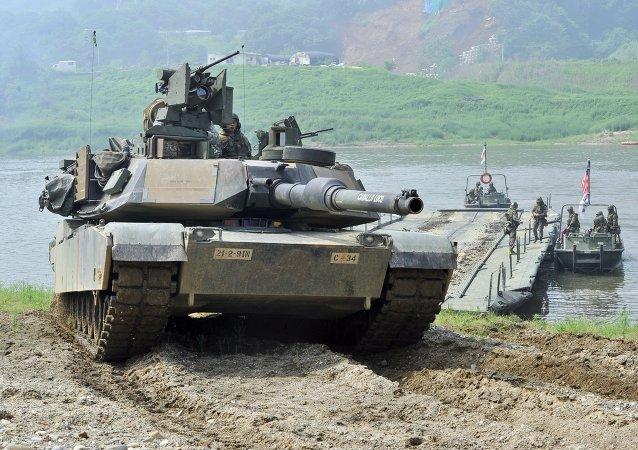 媒体:因朝鲜半岛局势而中断的美韩联合军演现已恢复