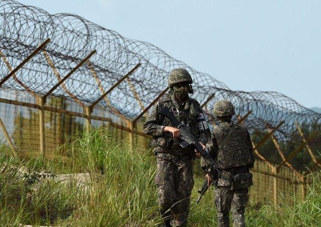 朝鲜人民军士兵