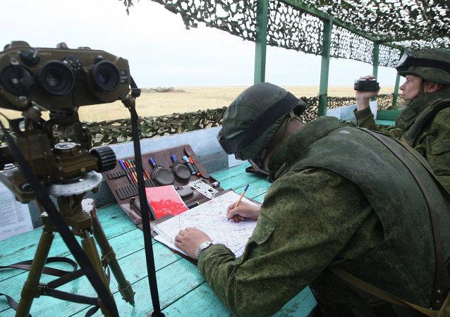 俄战略导弹部队在 阿斯特拉罕近郊测试洲际弹道导弹
