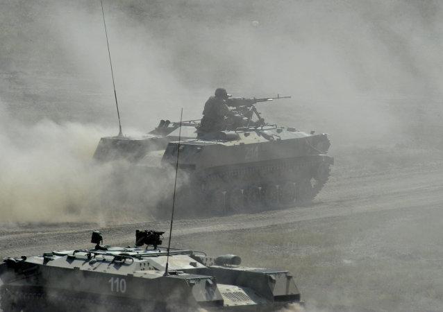 集安组织快速反应部队演习在普斯科夫州拉开帷幕