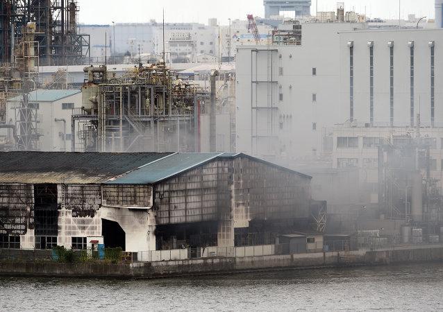 东京机场附近火灾未造成人员伤亡