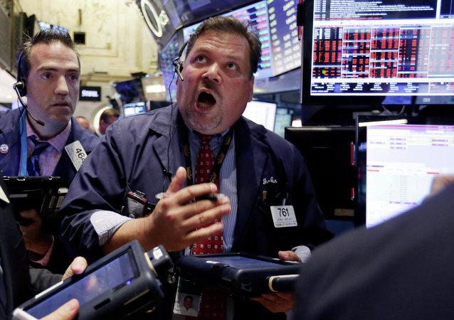美國股市24日開盤下跌3-8%