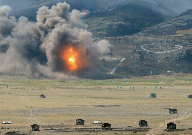 在哈萨克斯坦将首次举行连同中国参加的反恐演习