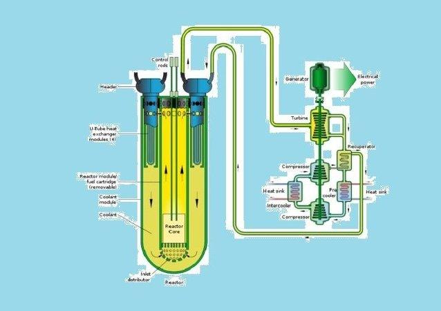 铅冷却快速反应堆