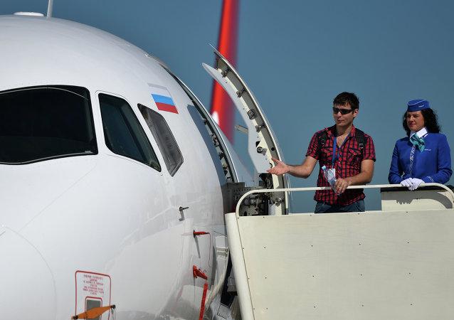 莫斯科航展上或能签署40架SSJ100的制造合同