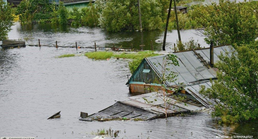 俄紧急情况部:远东92条河流汛期或临界警戒水位