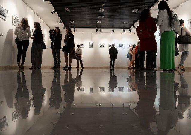 """""""两场战争,同一胜利""""大型图片展在莫斯科开幕"""