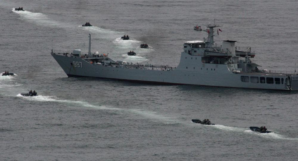 「海上聯合-2017」:中國海軍艦艇編隊起航赴俄參加第二階段演習