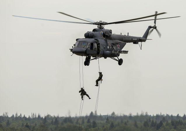 俄空降兵抵印度参加维和演习