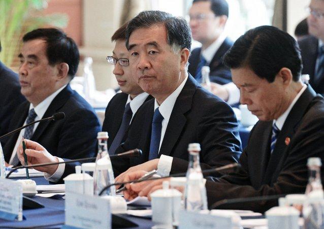 中国副总理汪洋:普京在东方经济论坛上的讲话说明俄罗斯发展远东的决心