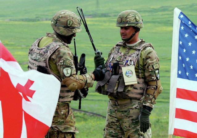 俄联邦外交部:格鲁吉亚与北约之间合作的加强对区域安全造成威胁