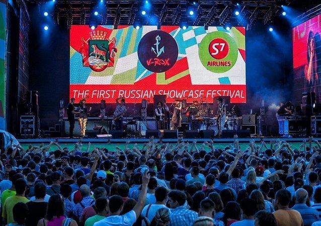 俄V-Rox摇滚音乐节吸引来自14个国家的300余音乐人参加