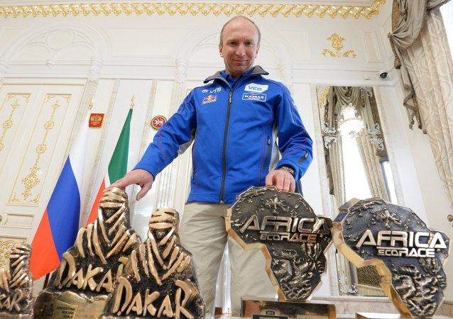 """达喀尔拉力赛7次冠军恰金被任命为2016年""""丝绸之路""""拉力赛负责人"""