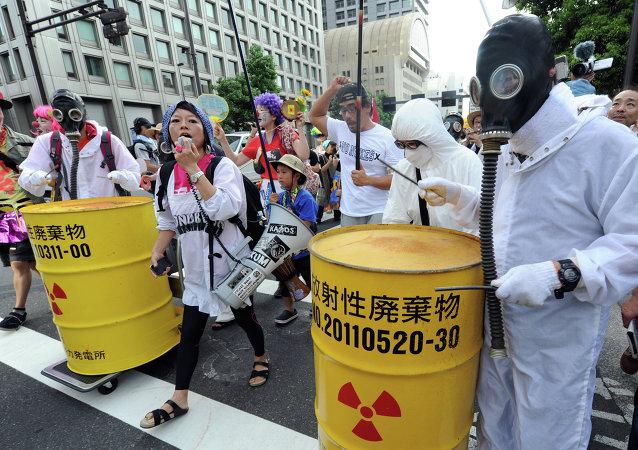 日本爆发反对建造核废料储存设施的大规模集会