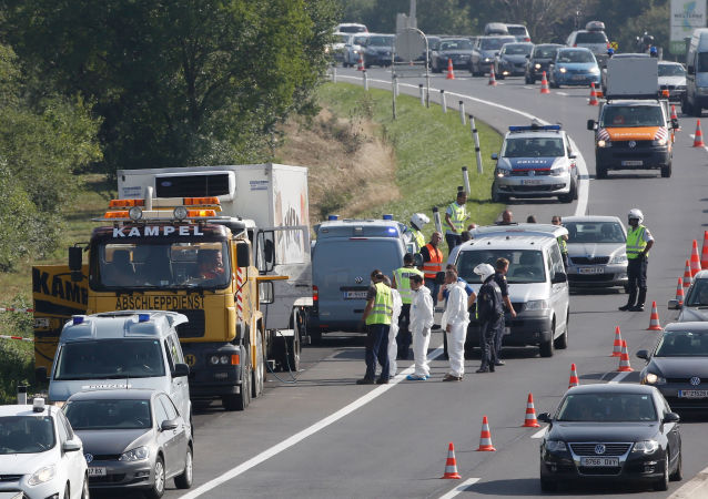 """匈牙利警方再缉捕一名奥地利""""死亡货车""""案件嫌犯"""
