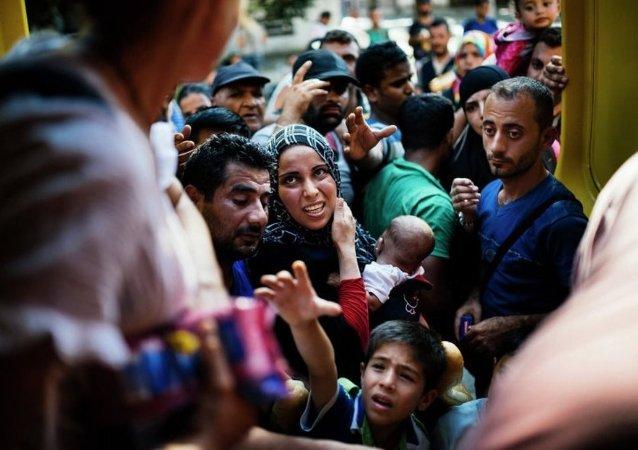 丘尔金: 联合国安理会将就非法移民问题采取决议