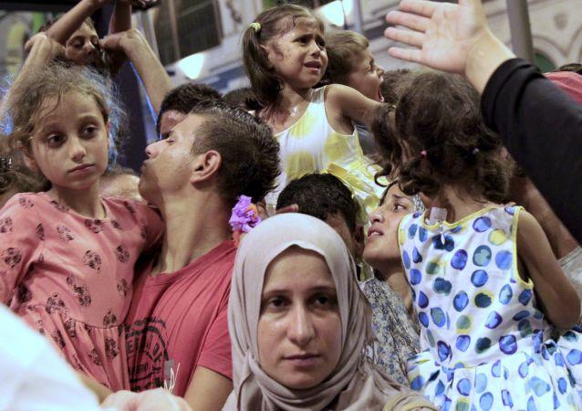 叙利亚难民潮没有对俄罗斯造成威胁