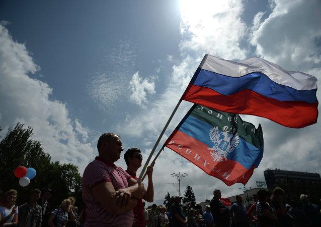 顿涅茨克人民共和国领导人否认有关就是否入俄举行公投的传言