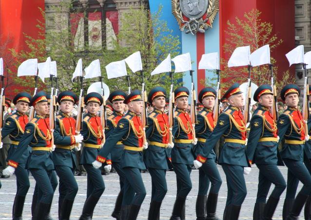 俄军第154独立警卫团方队将压轴北京阅兵