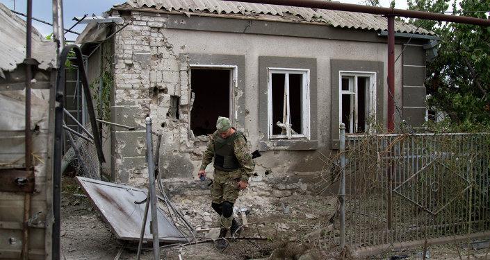烏克蘭國防部:基輔不考慮以武力恢復對頓巴斯地區的控制權
