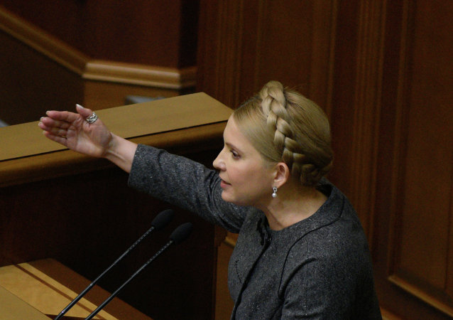 季莫申科可能将再次担任乌克兰总理