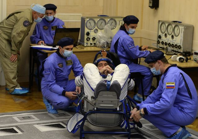 意大利宇航员卢卡·帕尔米塔诺将在俄加加林宇航员培训中心进行培训