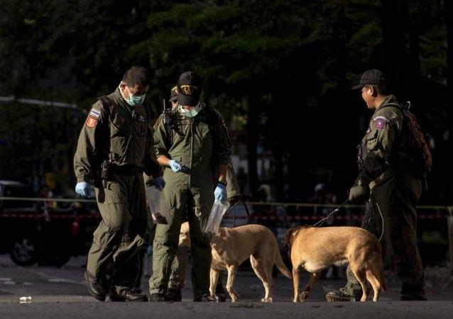 因中国爆炸事件泰国警方提高警戒力度